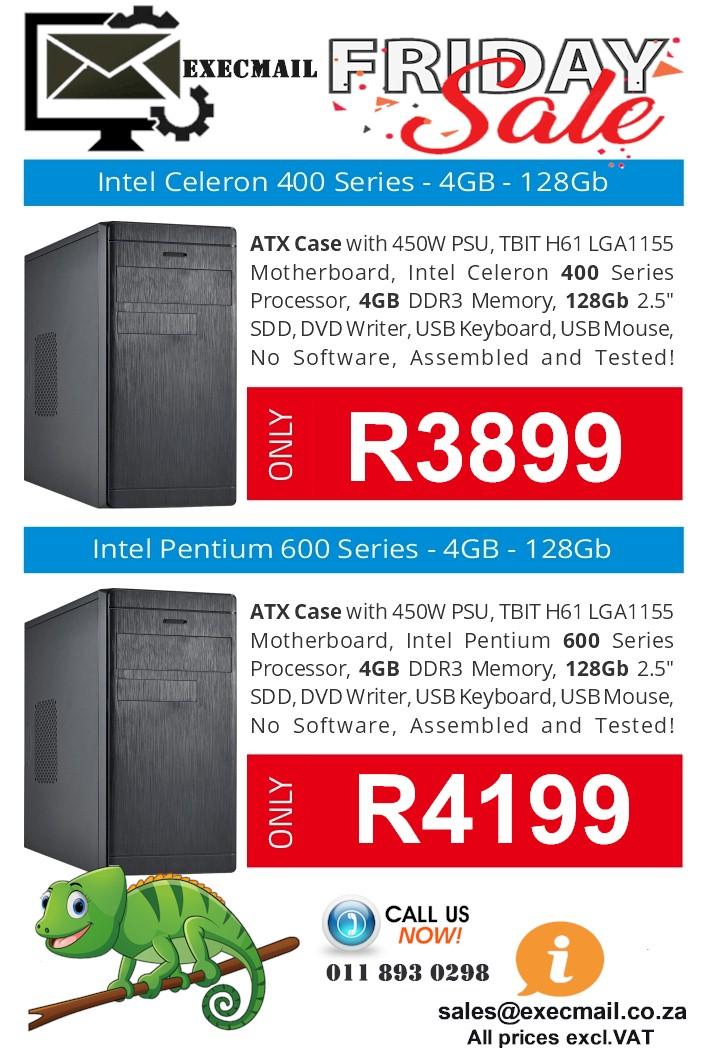 Intel Celeron  and Intel Pentium