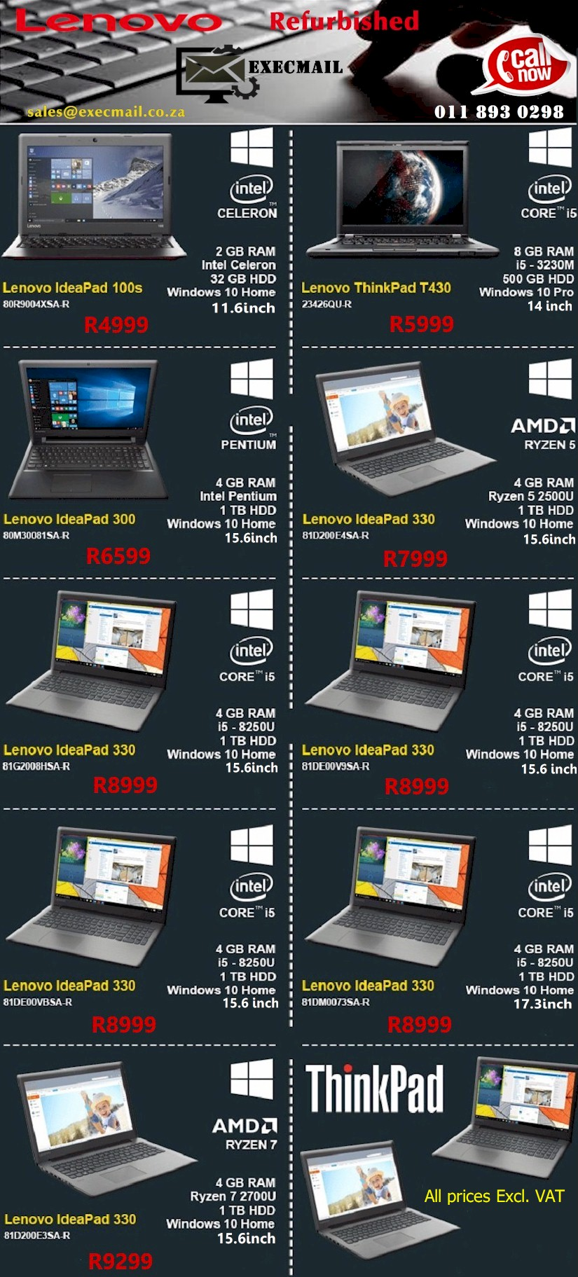 Catch These Lenovo Refurbished Laptop Deals Before They're Gone!