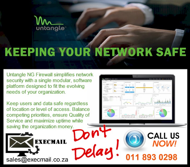 UNTANGLE - KEEPING YOUR NETWORK SAFE